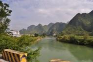 广西盘阳河风景图片(10张)