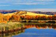 新疆白沙湖风景图片(7张)