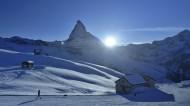 瑞士马特洪峰雪景图片(7张)