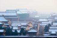 紫禁城雪景图片(9张)