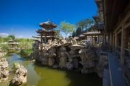 北京榆树庄公园风景图片(9张)