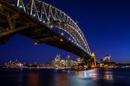 澳大利亚悉尼夜景风景图片(8张)