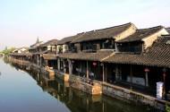 浙江嘉兴西塘古镇风景图片(7张)