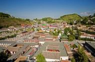 青海西宁塔尔寺风景图片(12张)