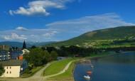 挪威沃斯小城风景图片(14张)