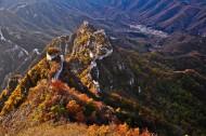 北京箭扣长城秋色图片(5张)