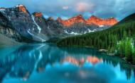 加拿大班夫国家公园风景图片(10张)