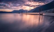加拿大温哥华哈里森湖风景图片(12张)