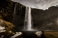 冰岛共和国塞里雅兰瀑布图片(10张)