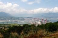 湖北三峡大坝风景图片(10张)