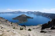 美国火山口湖风景图片(15张)