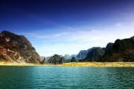 广西百色浩坤湖风景图片(19张)