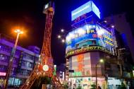 台湾嘉义市夜景图片(18张)