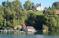 瑞士琉森湖风景图片(6张)