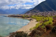 西藏林芝桃花风景图片(22张)