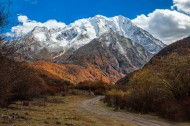 西藏亚拉雪山风景图片(8张)