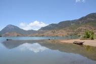 四川泸沽湖秀丽景色图片(13张)