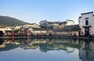 安徽宏村水乡风景图片(9张)
