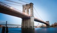 美国纽约布鲁克林大桥图片(14张)