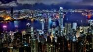 璀璨的香港夜景图片(7张)
