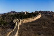 北京蟠龙山长城风景图片(30张)