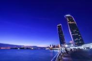 福建厦门双子塔建筑风景图片(8张)