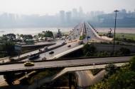 重庆石板坡立交桥图片(3张)