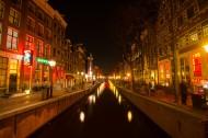 荷兰阿姆斯特丹夜景图片(12张)
