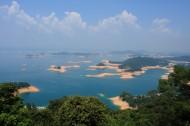 广东河源万绿湖风景图片(17张)