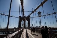 美国纽约布鲁克林大桥风景图片(13张)