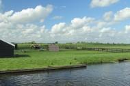 荷兰风车村桑斯安斯风景图片(15张)