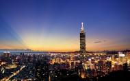 台湾城市夜景与自然风景图片(19张)