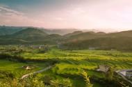 陕西凤堰古梯田风景图片(8张)