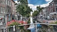 小镇里的运河图片(15张)