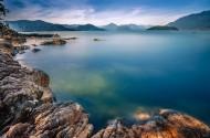 加拿大马蹄湾海边风景图片(9张)