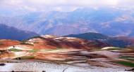 云南东川红土地风景图片(5张)