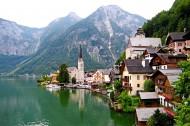 奥地利哈尔施塔特小镇风景图片(23张)