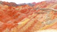 张掖丹霞地质公园风景图片(17张)