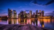 新加坡滨海湾花园风景图片(8张)