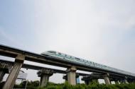 上海磁悬浮列车图片(17张)