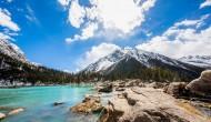 西藏然乌湖风景图片(8张)