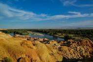 新疆布尔津五彩滩风景图片(14张)