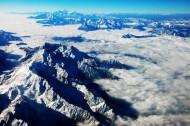 青藏贡嘎雪山风景图片(8张)