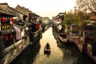 浙江西塘古镇风景图片(24张)