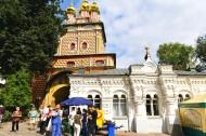 俄罗斯莫斯科谢尔盖修道院风景图片(11张)