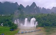 广西德天大瀑布风景图片(18张)