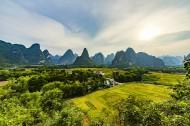广西明仕田园风景图片(15张)