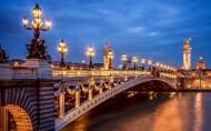 巴黎城市灯火辉煌的夜景图片(29张)