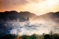 迷雾的石城风景图片(15张)