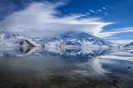 新疆慕士塔格峰风景图片(11张)